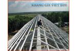 Hệ kèo thép mạ kẽm TTTRUSS ứng dụng trên từng hệ mái
