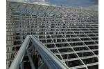 Hệ kèo chính làm mái nhà   hệ khung nhà lợp ngói   vì kèo thép mạ kẽm...