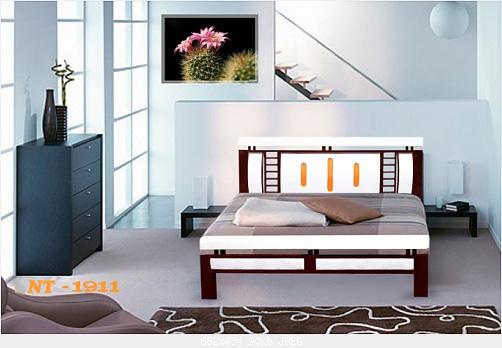 Giường sắt giả gỗ giá rẻ