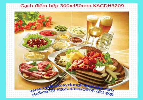 11 Bán gạch điểm bếp 300x450 giá rẻ 120,000viên