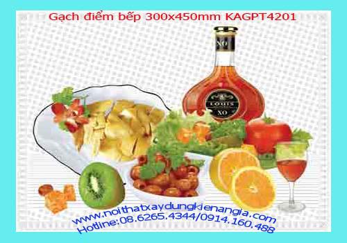19 Bán gạch điểm bếp 300x450 giá rẻ 120,000viên
