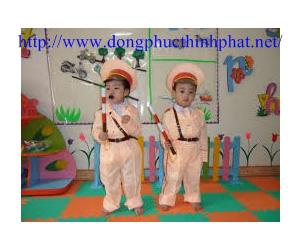 Quần áo cảnh sát giao thông cho trẻ em giá rẻ