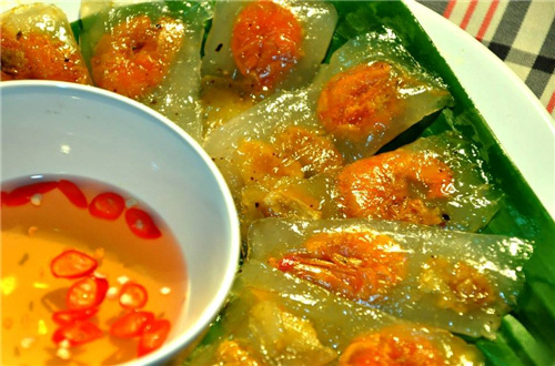 Món ăn miền Trung: Bánh bột lọc lá chuối, bánh bèo Huế, bánh bèo Đức Phổ