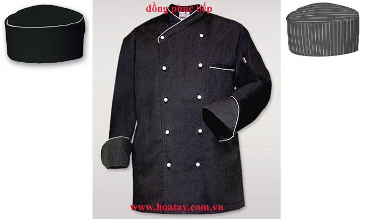4 Đồng phục bếp, đồng phục đầu bếp, đồng phục nhà bếp. May đồng phục bếp