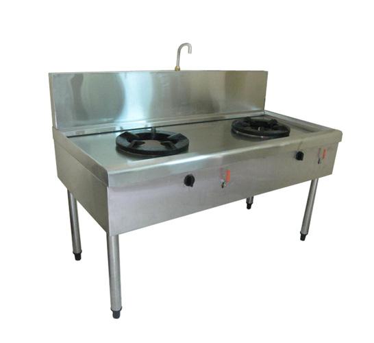 1 Bếp á đôi, bếp xào công suất lớn , bếp dùng cho nhà hàng