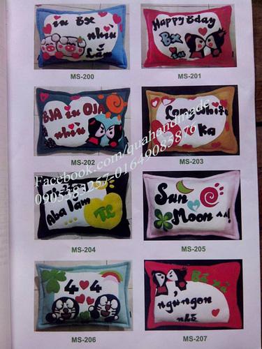 5 Gối handmade đặt theo yêu cầu tại Đà Nẵng