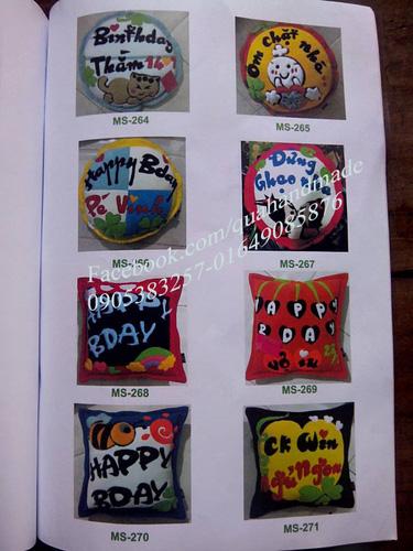 6 Gối handmade đặt theo yêu cầu tại Đà Nẵng