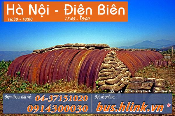 Xe khách giường nằm Hà Nội   Điện Biên, Lào Cai, Sơn La, Lai Châu, Móng Cái, Hà Giang