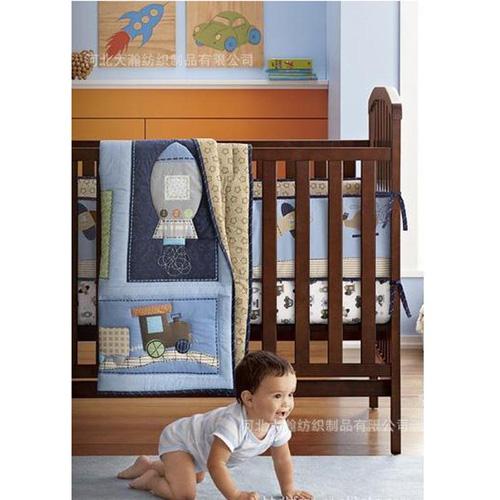 3 Quây cũi cho bé, đệm cũi, màn cho cũi trẻ em hàng việt nam xuất khẩu