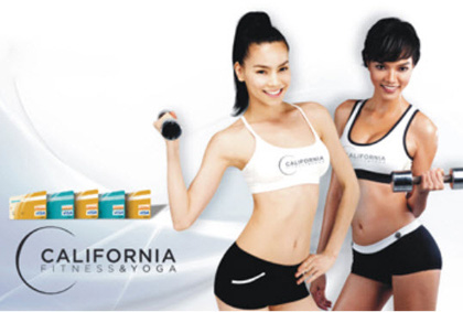Thanh lý thẻ tập California Yoga and Fitness