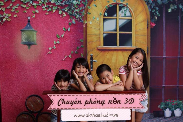7 ALOHASTUDIO  Chuyên bán buôn bán lẻ phông chụp ảnh 3D với nhiều bối cảnh Hàn Quốc Vintage