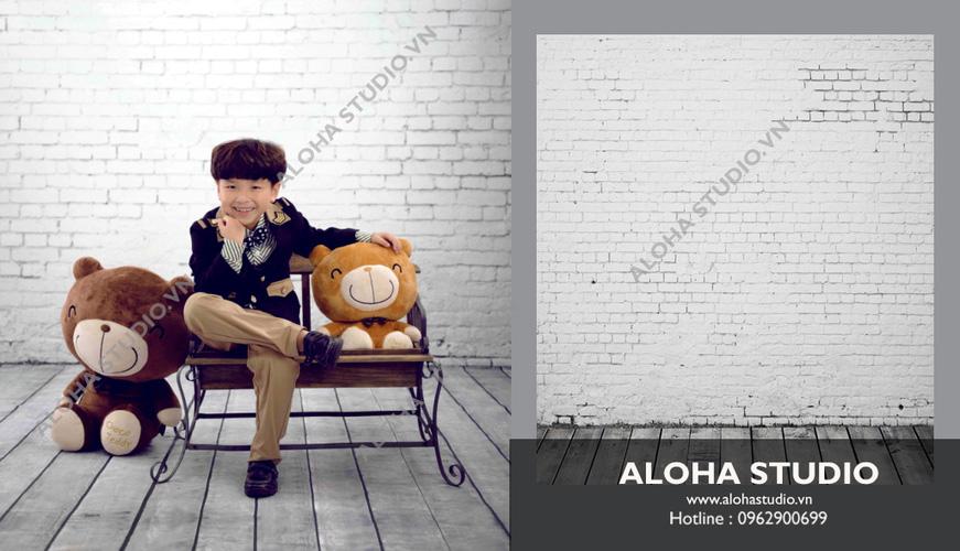 14 ALOHASTUDIO  Chuyên bán buôn bán lẻ phông chụp ảnh 3D với nhiều bối cảnh Hàn Quốc Vintage