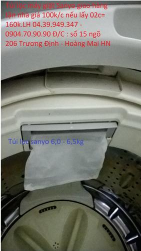 Bán túi lọc bụi,lọc bẩn trong máy giặt toshiba,sanyo,panasonic,Lg