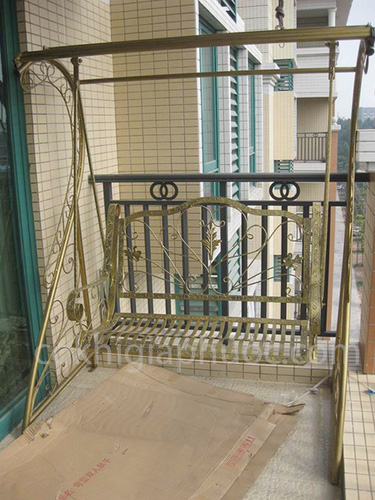 1 Xích du sắt mỹ thuật trang trí nội ngoại thất sân vườn
