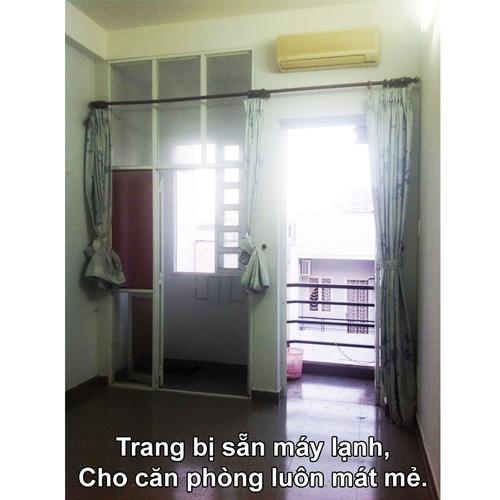 1 Phòng cho thuê Mặt tiền Phú Nhuận, Giờ tự do, ban công chỉ còn 3.3tr