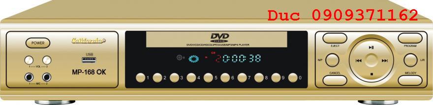 Đầu karaoke 6 số chính hãng California 168ok giá thấp nhất thị trường