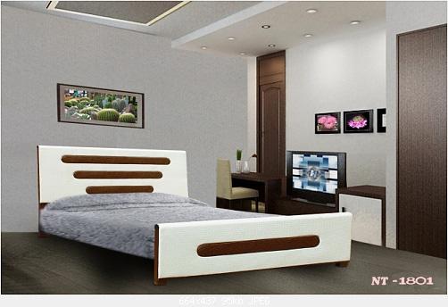 8 Giường sắt giả gỗ giá rẻ