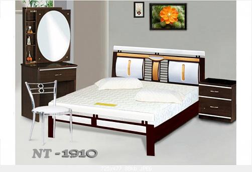 9 Giường sắt giả gỗ giá rẻ