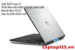 Dell 5547 core i7 4510 Ram 8G HDD 1000G VGA R7 M265...